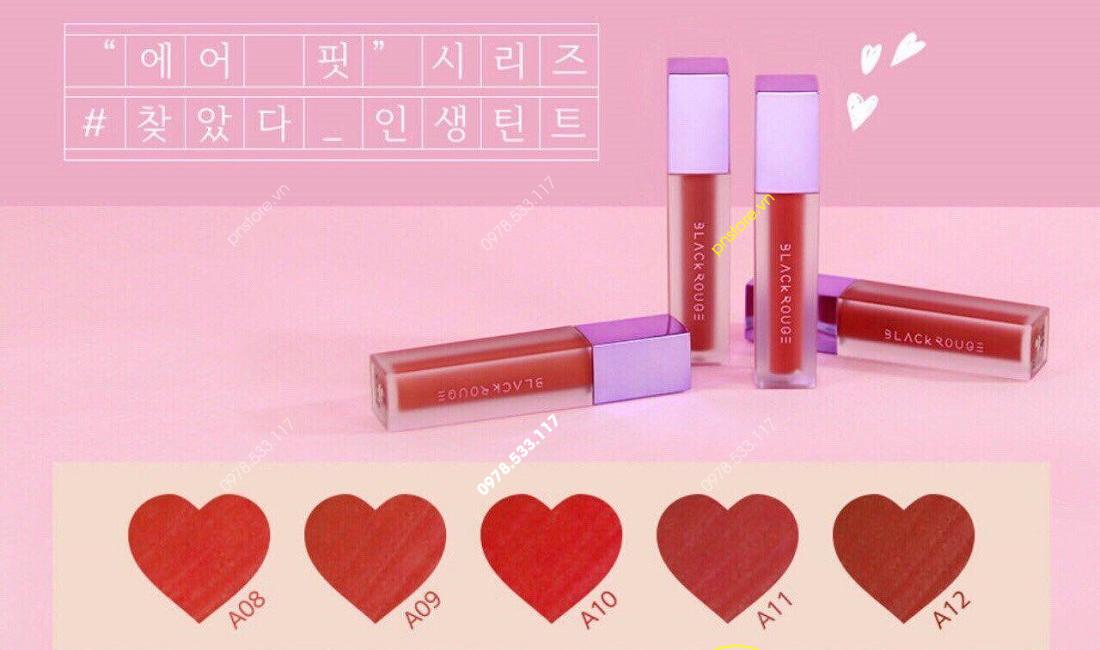 Son kem lì Black Rouge Air Fit Velvet Tint Mood Filter version 2 chính hãng (Hàn Quốc) - PN60611