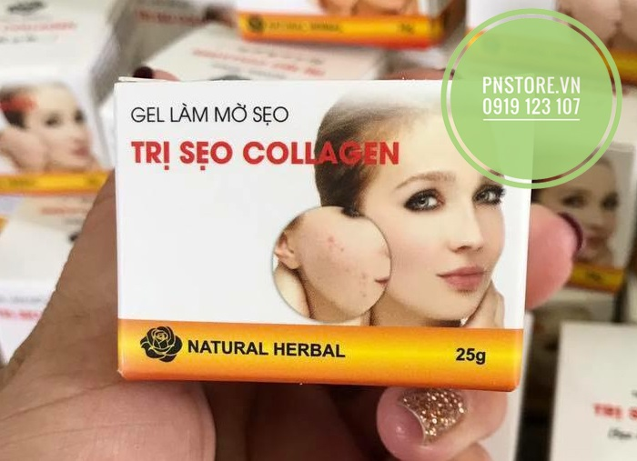 THUỐC TRỊ SẸO COLLAGEN SCAR TREATMENT NEW 2014