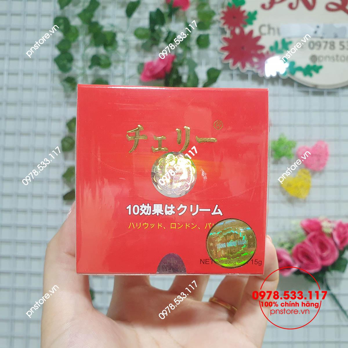 Kem dưỡng trắng da Hoa Anh Đào 10 tác dụng chính hãng (Nhật Bản)