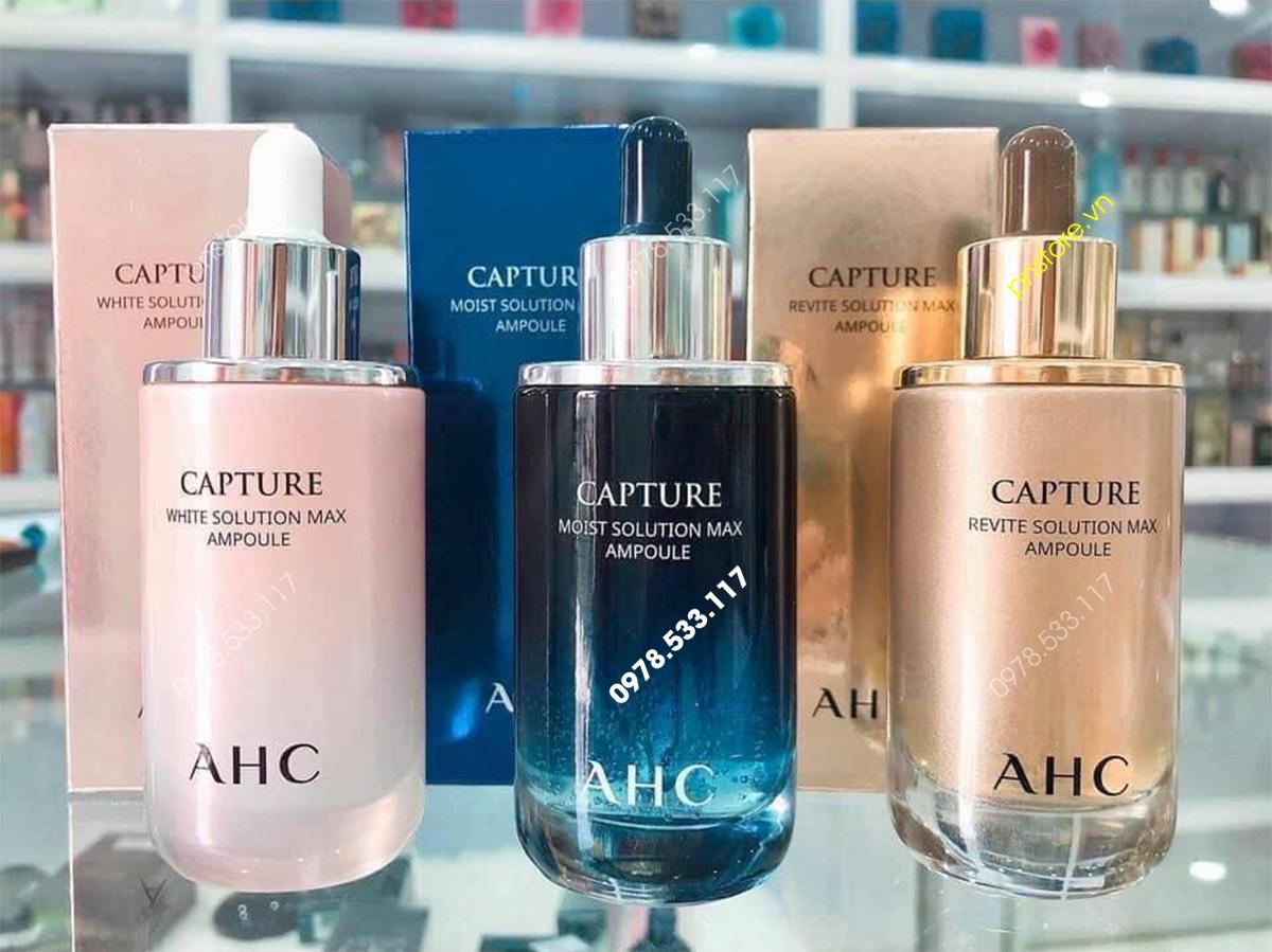 Serum AHC Capture Solution Max Ampoule dưỡng trắng chống lão hóa chính hãng Hàn Quốc