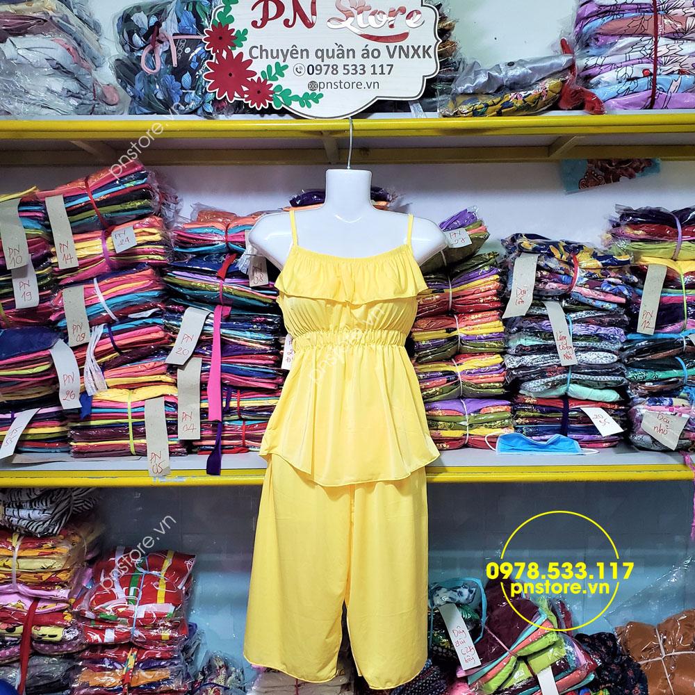 Top 30 mẫu quần áo đồ bộ mặc nhà thun lạnh dễ thương cho mùa hè