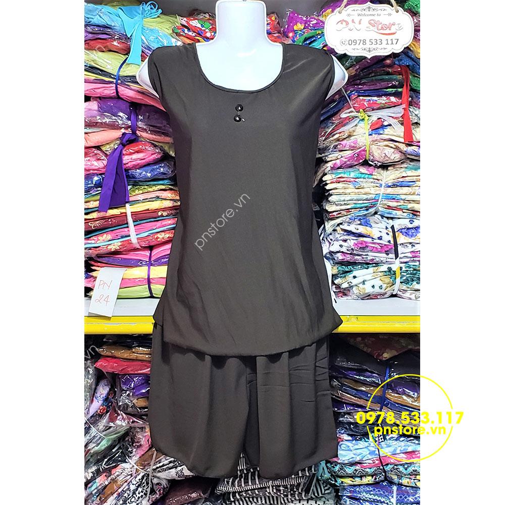 (45-63kg) Đồ bộ đùi thun Su sát cánh đẹp mát - PN88925