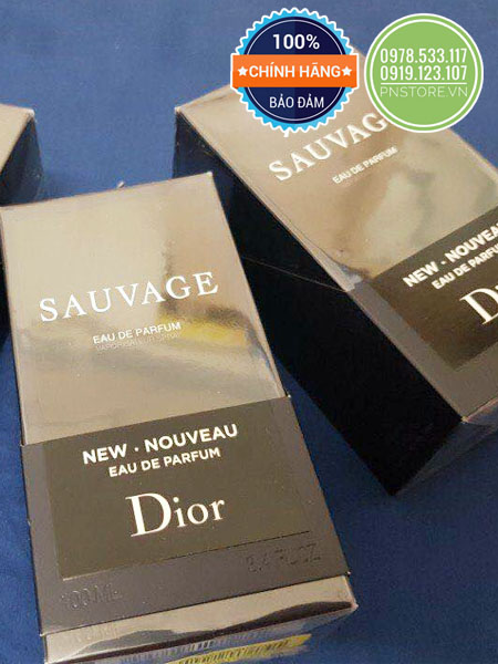 Nước hoa nam Dior Sauvage for men 2018 EDP 100ml - pnstore.vn