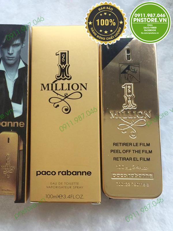 Nước hoa nam Paco Rabanne One Million EDT 100ml chính hãng - pnstore.vn