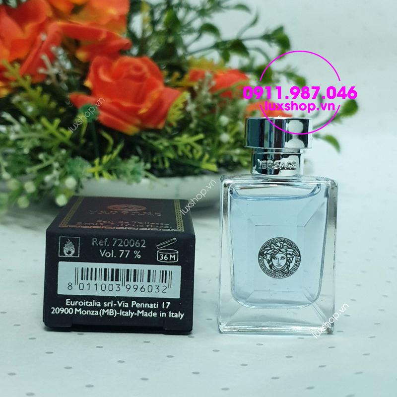 Nước hoa nam mini Versace Pour Homme edt 5ml chính hãng - pnstore.vn