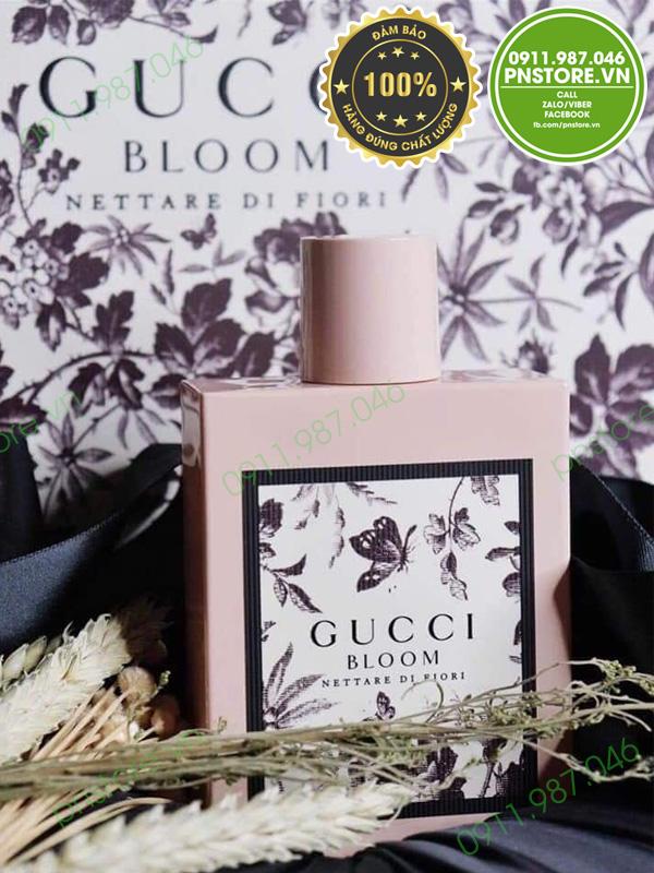 Nước hoa nữ Gucci Bloom Nettare Di Fiori EDP 100ml chính hãng (Ý)