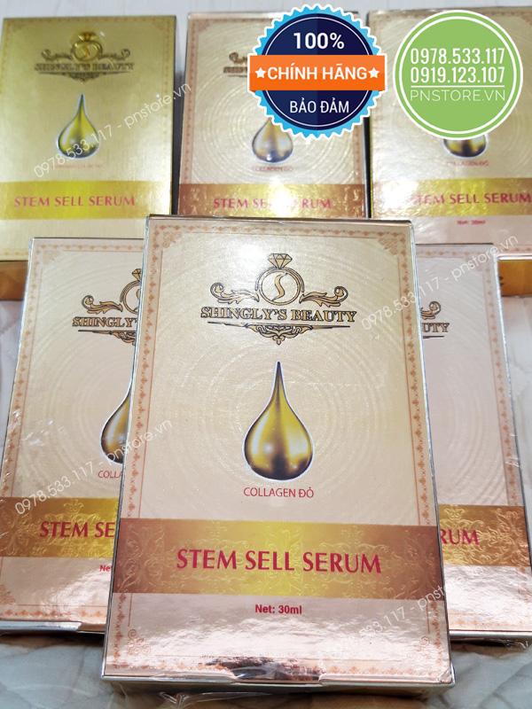 Serum tế bào gốc Shingly's Beauty Stem Shell Serum (30ml) - pnstore.vn