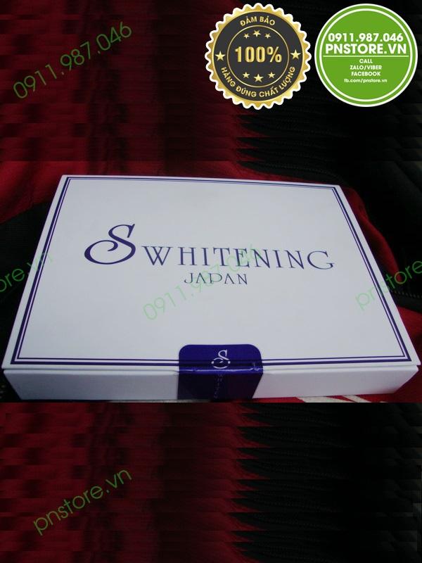 Thuốc tiêm trắng da S Whitening chính hãng (Nhật Bản) - pnstore.vn