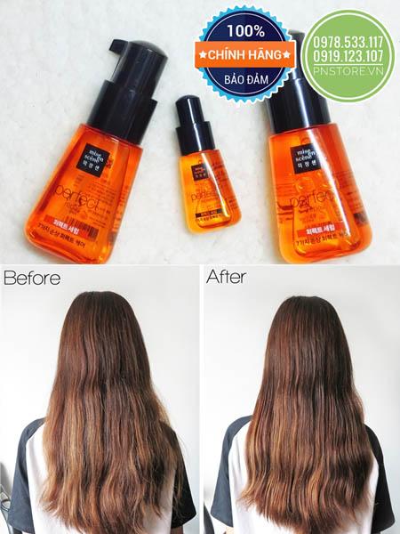 Tinh Chất Dưỡng Tóc Mise En Scene Damage Hair Care Perfect Serum chính hãng (Hàn Quốc)