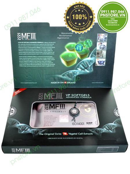 Viên uống tế bào gốc noãn thực vật MFIII Softgel VP Placenta Extract chính hãng (Thụy Sỹ) - pnstore.vn