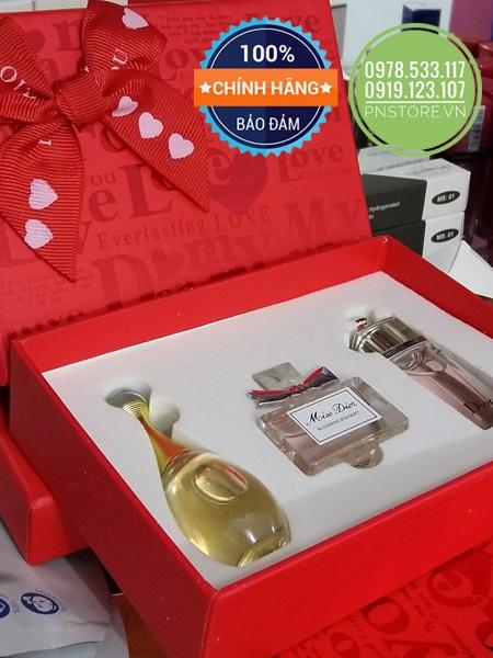 Set nước hoa Dior làm quà tặng 8/3 cho bạn gái, người yêu