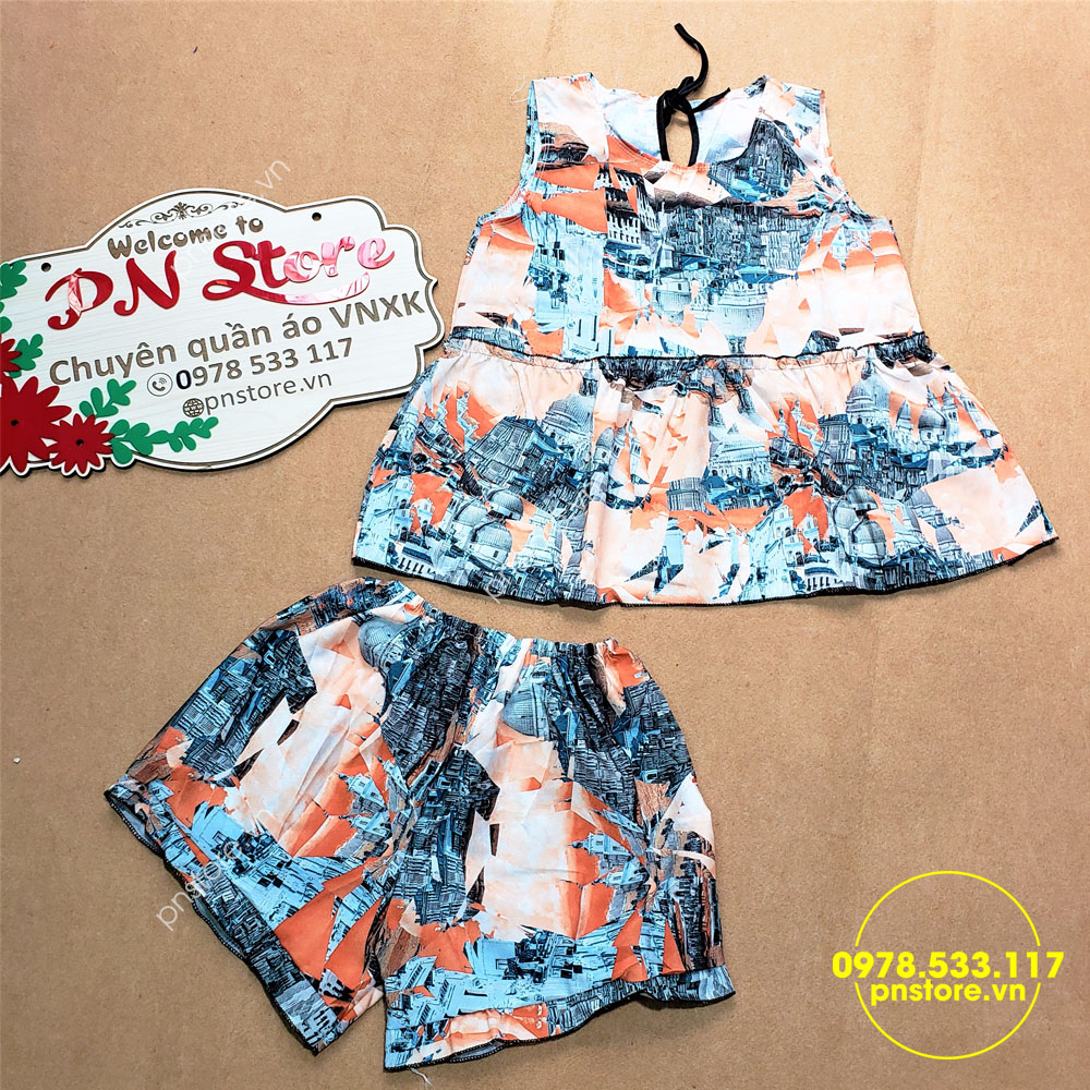 Thời trang nữ: [Thời trang nữ] Chuyên sỉ quần áo đồ bộ mặc nhà giá rẻ chỉ từ 28k Si-do-bo-dui-voan-du-hoa-tiet-la-mat-thumb