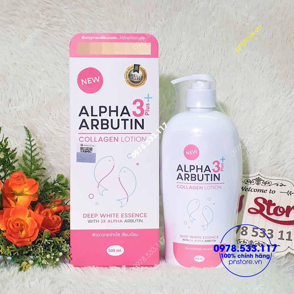 sua-duong-trang-body-alpha-arbutin-collagen-lotion-500ml-chinh-hang-thai-lan